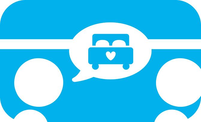 Geen vertrouwelijke gesprekken. Illustratie bij blog over treinreisetiquette.