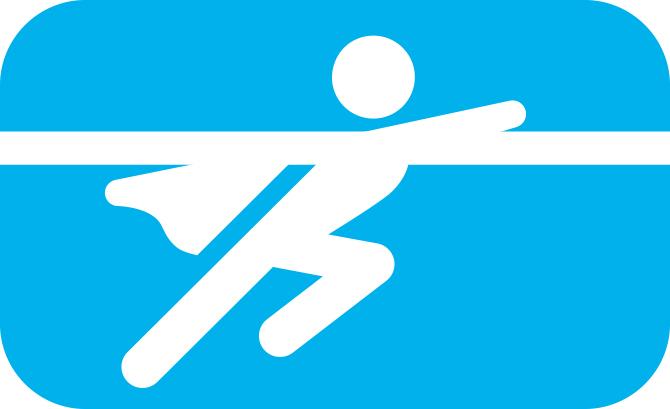 Opstaan voor iemand. Illustratie bij blog over treinreisetiquette.