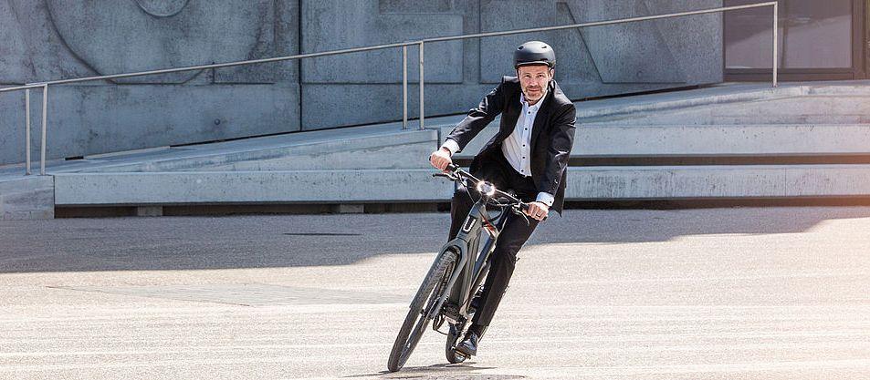 Stromer e-bike bij blog over e-bike van de zaak