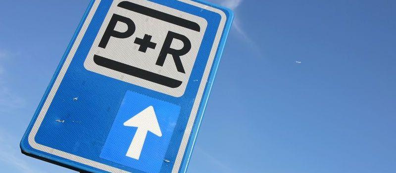 P+R verkeersbord bij blog over P+R
