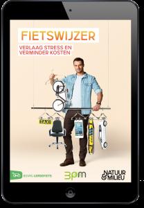 Afbeelding van de Fietswijzer bij pagina over fietsen naar het werk