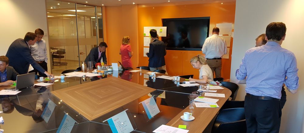 interne sessie om te komen tot mobiliteitsbeleid